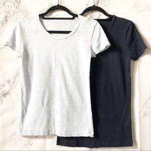 J. Crew Vintage Cotton Basic Navy Blue T-Shirts